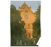 Circular Congregational Church, Charleston Poster