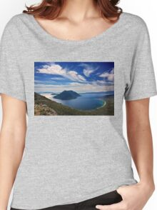 Ionian panorama from Xiromero Women's Relaxed Fit T-Shirt