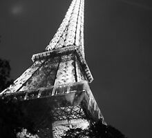 Tour de Eiffel B&W by TimothyMonson