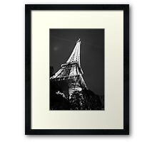 Tour de Eiffel B&W Framed Print
