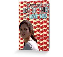 Season 5 Teen Wolf Greeting Cards [Hayden] Greeting Card