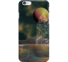 Strange reflections of an uncertain future iPhone Case/Skin