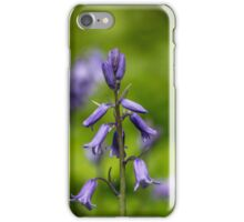 Bluebells in a Meadow iPhone Case/Skin