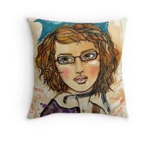 my wandering mind Throw Pillow