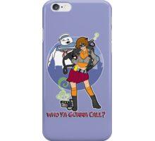 Who Doo You Call iPhone Case/Skin