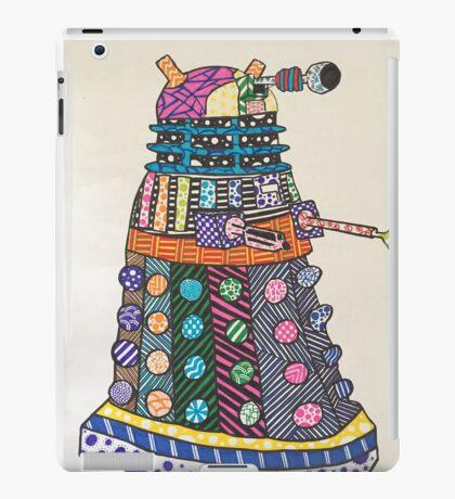 Dalek zentangle iPad Case/Skin