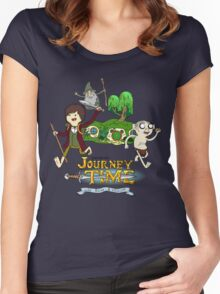 Unexpected Journey Time! Women's Fitted Scoop T-Shirt
