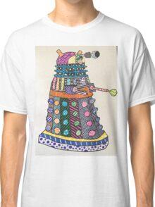 Dalek zentangle Classic T-Shirt