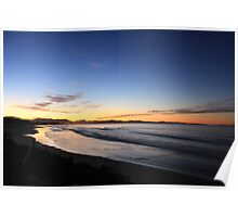 Byron Bay Sunset Poster