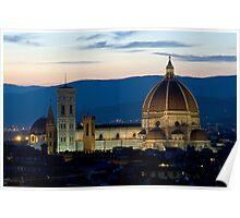 Italie - Toscane - Florence (Firenze) Poster