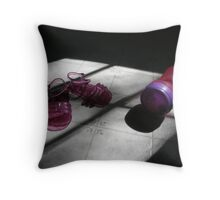 Baby Days Throw Pillow