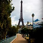 Paris Path to the Eiffel by TimothyMonson
