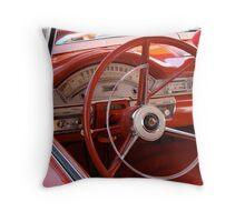 '58 Ford Fairlane - 2Dr HT Dash Throw Pillow