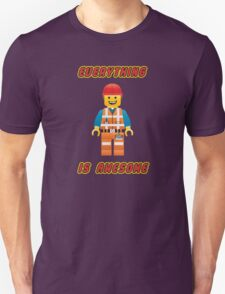 Emmet Brickowski / Everything is Awesome Unisex T-Shirt