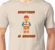 Emmet Brickowski / Everything is Awesome Unisex T-Shirt