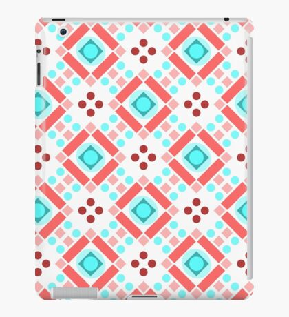 Simple retro pattern with shapes iPad Case/Skin