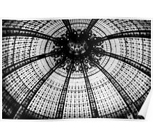 Intricate Ceiling @ Galeries Lafayette  Poster