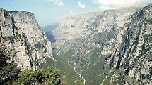The Vikos gorge in Greece by branko stanic