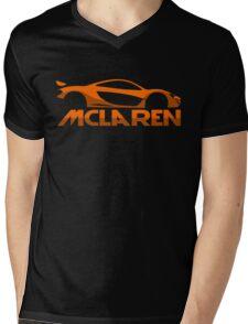 Mclaren P1 Mens V-Neck T-Shirt