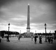 Obelisque @ Place de Concorde by TimothyMonson