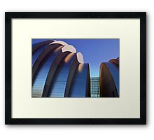 Kauffman Center Halves Framed Print