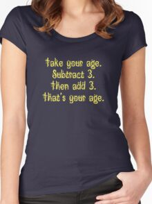 That's Your Age Women's Fitted Scoop T-Shirt