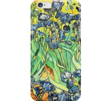 Van Gogh's Irises Bright and Beautiful iPhone Case/Skin