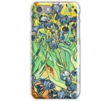 Van Gogh's Irises Bright and Beautiful iPhone Case/Skin