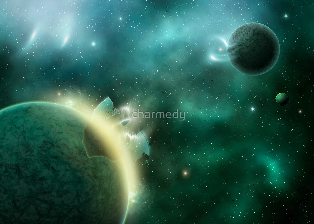 Cosmic Rebirth by charmedy