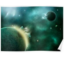 Cosmic Rebirth Poster