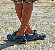 Crossed Feet by Susie Peek