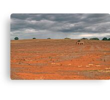 The Isolation of Outback Australia Canvas Print