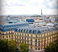 Sprawling Paris by TimothyMonson