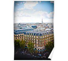Sprawling Paris Poster