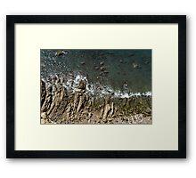Rock View Framed Print