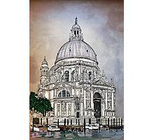 Santa Maria della Salute,Venice Photographic Print
