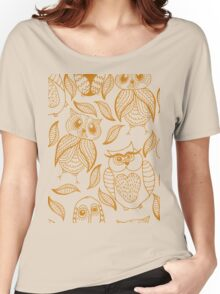 Four different brown owls Women's Relaxed Fit T-Shirt