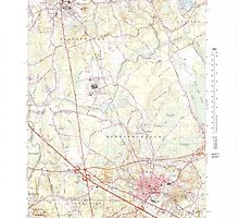 Massachusetts  USGS Historical Topo Map MA Bridgewater 350879 1977 25000 by wetdryvac