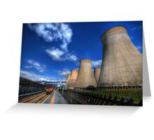 Ratcliffe-On-Soar Power Station Greeting Card