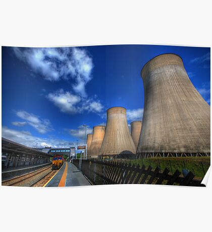 Ratcliffe-On-Soar Power Station Poster