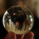 I looked into the crystal ball ... by Erika Gouws