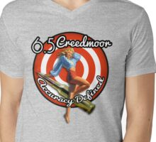 The Creedmoor Girl! Mens V-Neck T-Shirt
