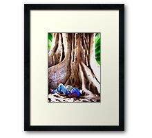 At The Feet Of The Master Framed Print