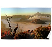Sunrise at Mount Bromo  Poster