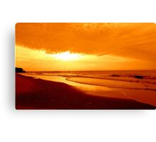 Golden Sunrise-Early Dawn     ^ Canvas Print