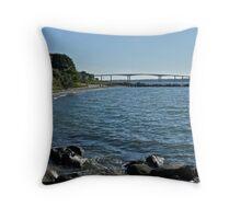 Summers Ending Days - Jamestown -Rhode Island  Throw Pillow