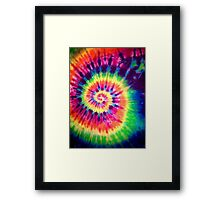 Psychedelic Colours Framed Print