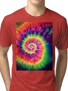Psychedelic Colours Tri-blend T-Shirt