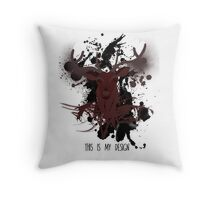 This is My Design - Hannibal Throw Pillow