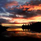 Sundown in Ucluelet by EchoNorth